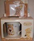 Popcorn I Love Mum Mug & X Stickkit