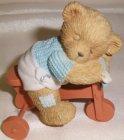 Bear Boy on Trike