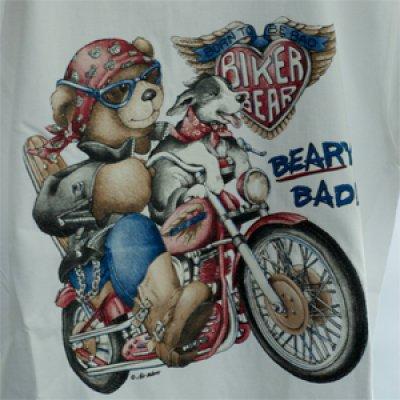 """T-Shirt  """"Motorradbär"""""""