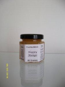 """Happy Mango"" Probierglas 50 Gramm"