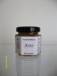 Kiwi Probierglas 50 Gramm