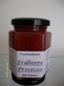 Erdbeere / Prosecco